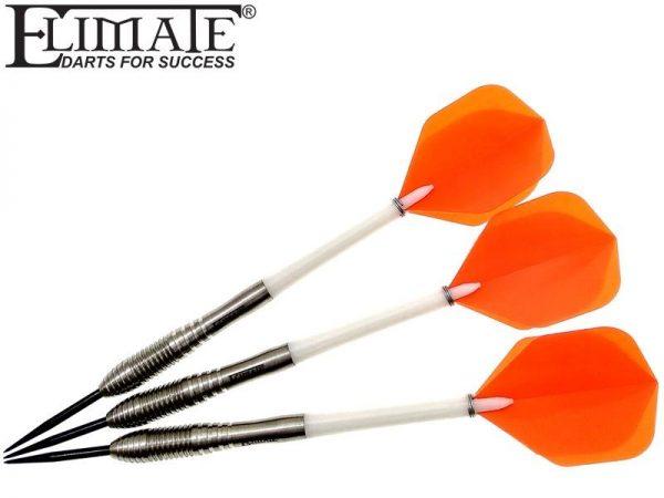 Elimate M 2.0 - 22gr Steeltip Darts Set 90% Tungsten designed for Elimate Darts Team.